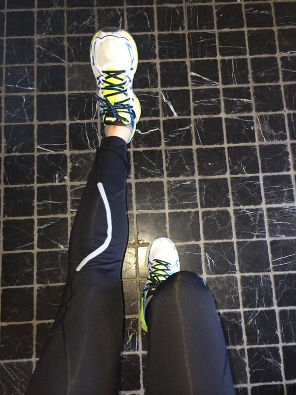 ginocchio del runner