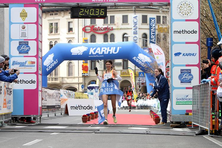 Vincitrice Treviso Marathon 2016