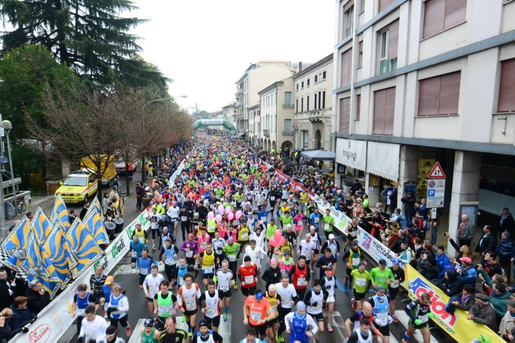 Partenza Treviso Marathon 2016
